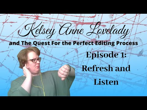 The Perfect Editing Process!