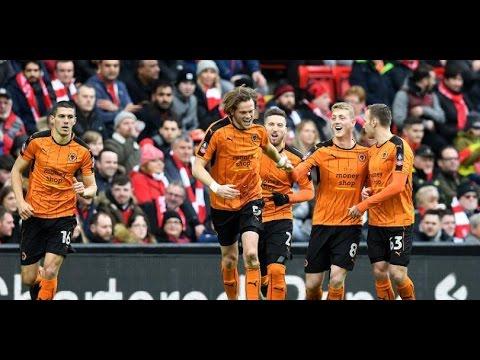Liverpool - Wolverhampton 1-2 Goals FA Cup 28.01.2017