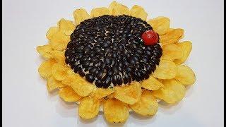 "САЛАТ ""ПОДСОЛНУХ"" ( ""sunflower"" salad )"