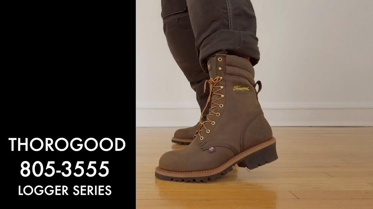 Thorogood Logger   804-3555   The Boot