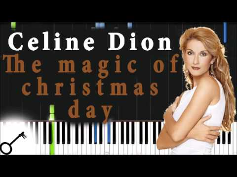 CELINE DION -The Magic of Christmas Day (God Bless Us Everyone) - YouTube