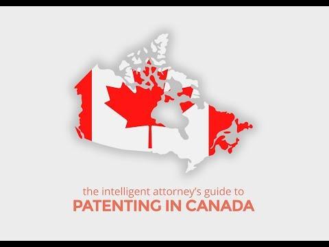Patenting In Canada