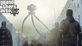 GTA 5: ПРИШЕЛЬЦЫ ЗАХВАТИЛИ ЛОС-САНТОС! КОНЕЦ СВЕТА ГТА 5 - РЕАЛЬНАЯ ЖИЗНЬ ГТА 5