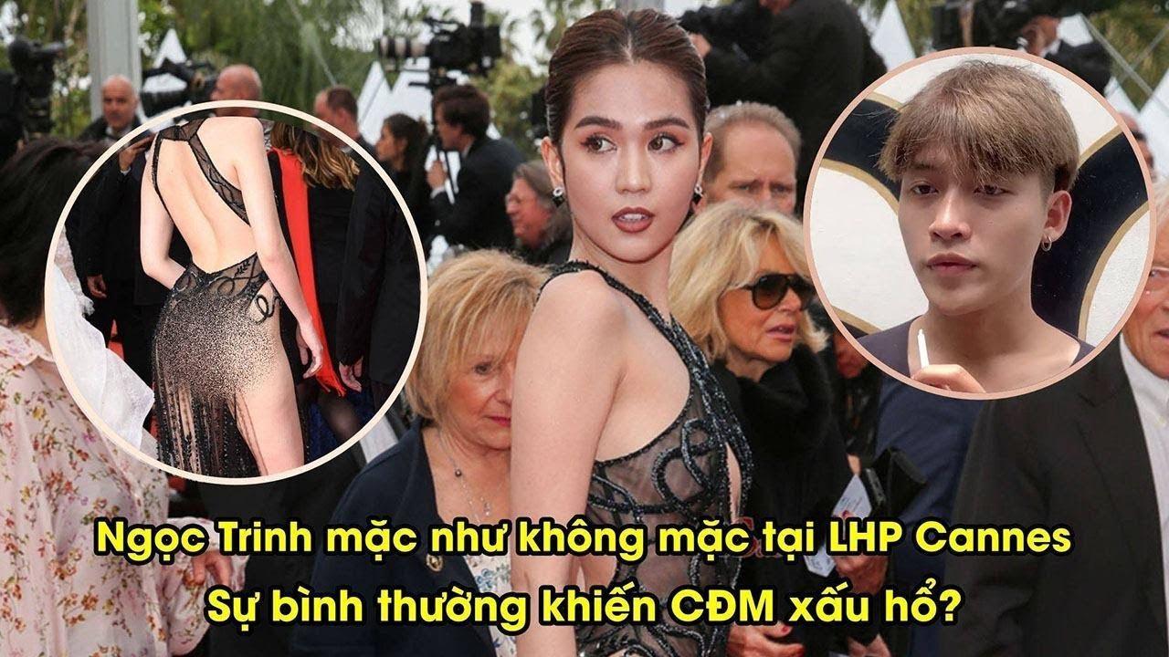Ngọc Trinh hở bạo tại LHP Cannes, bình thường hay phản cảm? | YAN News