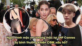 Ngọc Trinh hở bạo tại LHP Cannes, bình thường hay phản cảm?   YAN News