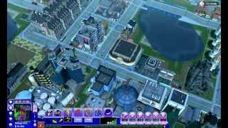SimCity Societies Mega City Overview Gameplay HD