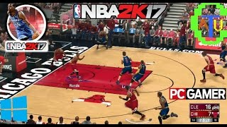 NBA 2K 2017 # TESTANDO O GAME PC FULL HD.