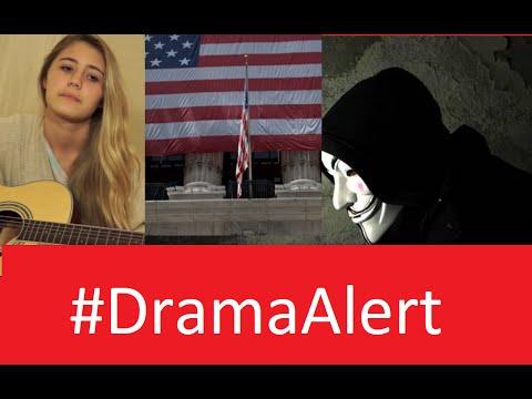 Anonymous Hacks Wall Street? #DramaAlert OurMine - Lia Marie Johnson & Tejbz Hacked!