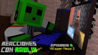 Villager News 3 (Substitulado) (Element Animation) Reaccion en Español
