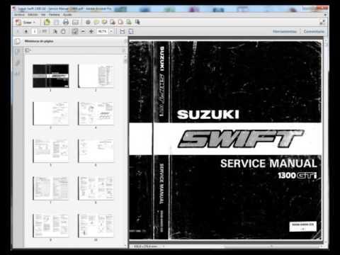 suzuki swift sf310 sf413 sf416 service manual taller manuel rh youtube com