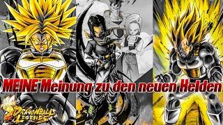 MEINE Meinung zu den neuen SSJ Helden! ;) | Dragon Ball Legends Deutsch