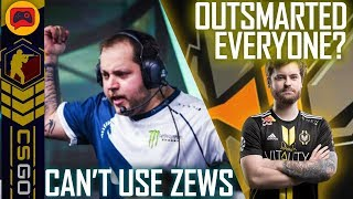 CSGO | MiBR Can't Use Zews for Major, Vitality Outsmarted Us? Lazarus Explain Controversy