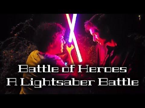 Battle of Heroes: A Lightsaber Battle