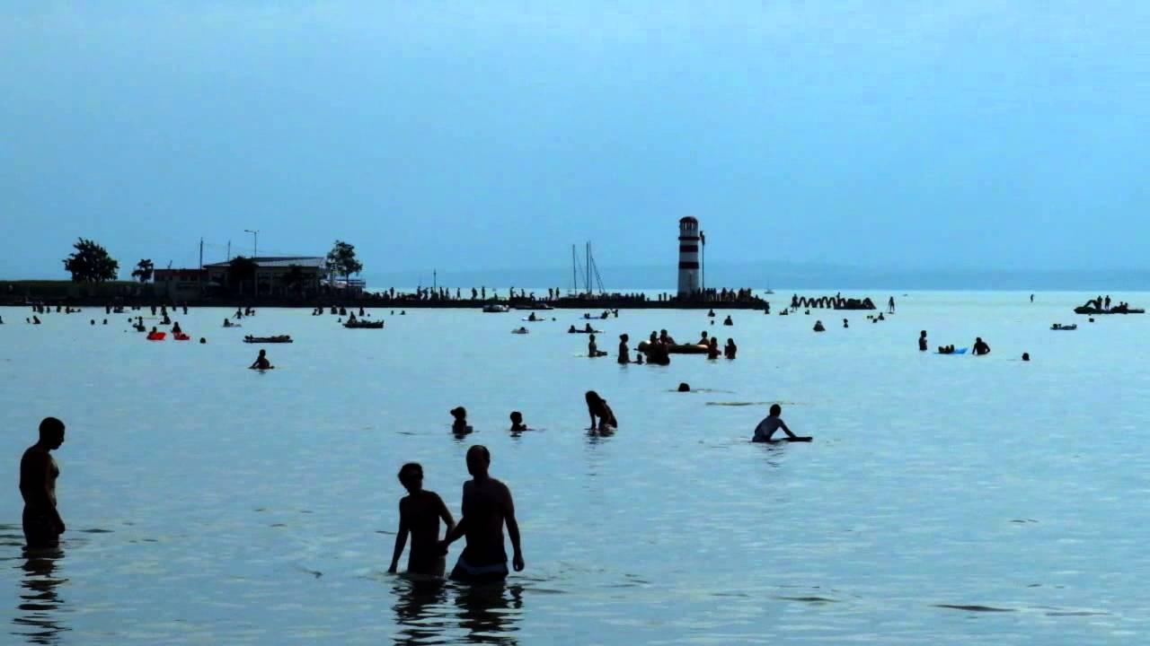 Beach Strandbad In Podersdorf Am See Youtube