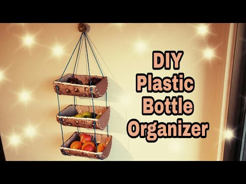 DIY BEST OUT OF WASTE PLASTIC BOTTLES/ Plastic Bottles Organizer| Plastic Bottles Crafts: