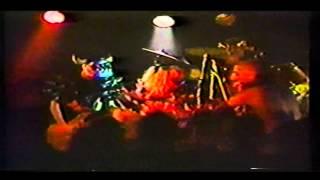 GWARlLive Blondies Detroit Michigan 1988 Slutman City