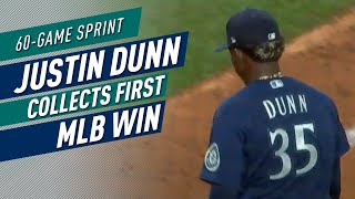 Justin Dunn Collects First MLB Win