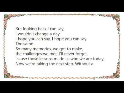 Hoobastank - Say the Same Lyrics