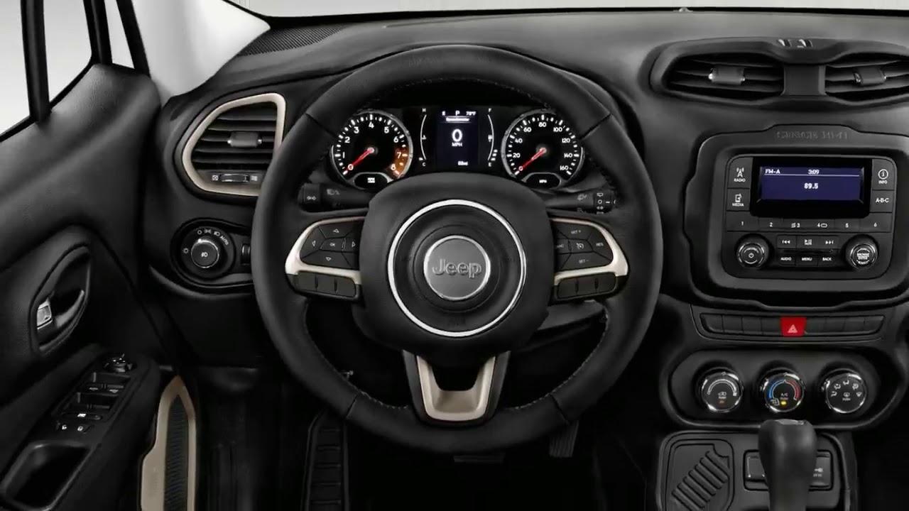 2017 Jeep Renegade Interior And Exterior
