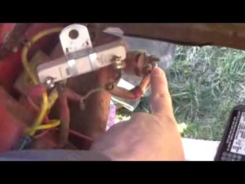 8n electrical system trouble shooting when 8n won t start youtube rh youtube com Ford 4000 Tractor Wiring Diagram Ford 8N 12 Volt Conversion Wiring Diagram