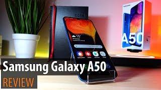 Samsung Galaxy A50 Review în Limba Română (Telefon midrange cu 3 camere, ecran Super AMOLED)