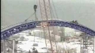 Millennium Force and Top Thrill Dragster - Construction