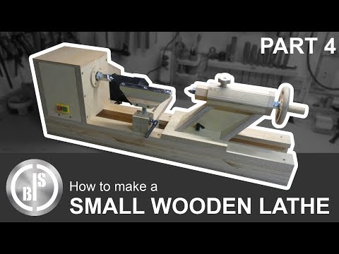 DIY WOODEN LATHE | PART 4 | TOOL BASE AND TOOL REST