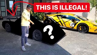 ALEX CHOI BUYING ILLEGAL RACECAR TO DRIVE ON THE STREET?!