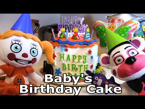 "FNAF Plush - Sister Location ""Baby's Birthday Cake"""