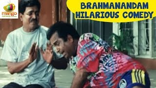 Brahmanandam Best Comedy Videos | Best  Hindi Comedy Scenes | Meri Chunouti Hindi Dubbed Movie