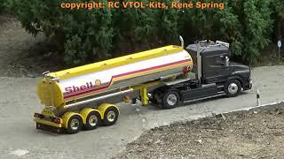 Download RC Oil Truck Scania Shell Fuel Benzin, Modell Lastwagen LKW, Model Trucks Show, Mini Truckers Lyss