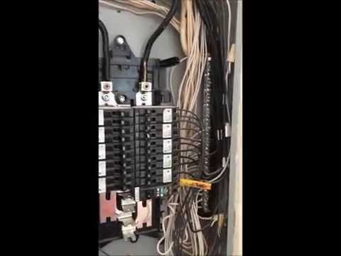 How To; 200 AMP Main Electrical Panel