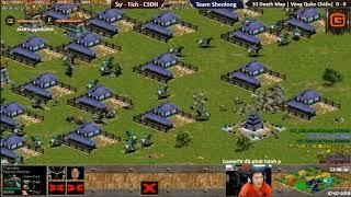 AOE Trung Việt 2018 | 3vs3 DeathMap | Quần Chiến - Trận 1 | CSĐN - V.Tích - V.Sự vs Team ShenLong