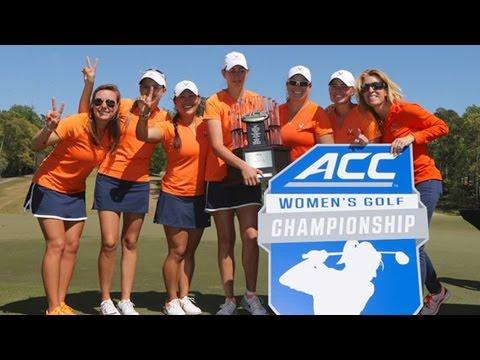 UVA Captures 2016 ACC Women's Golf Championship In Repeat Fashion