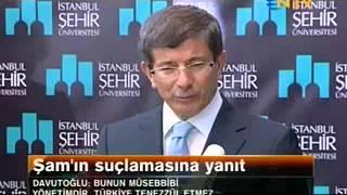 Dışişleri Bakanı Ahmet Davutoğlu ŞEHİR'de Gazetecilerin Sorularını Yanıtladı