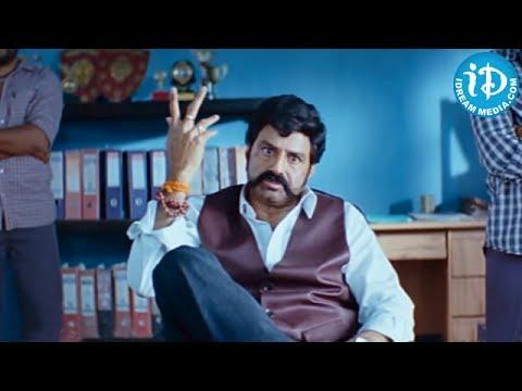Simha Movie - Balakrishna, Chalapathi Rao Emotional Dialogues