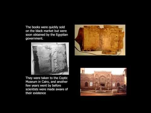 Manuscripts of the New Testament vs. The Gnostic Gospels from Nag Hammadi P2/8 Dr. Michael Heiser