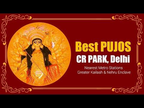 cr-park-delhi-best-durga-puja-2019-|-pandals-|-mela-ground-|-food-stall-|-street-food