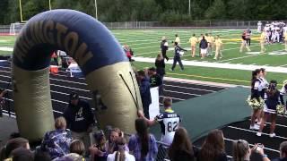 (version 2) Jojo #10/Oso Strong tribute @Arlington HS, Wa varsity football home opener 09/19/14