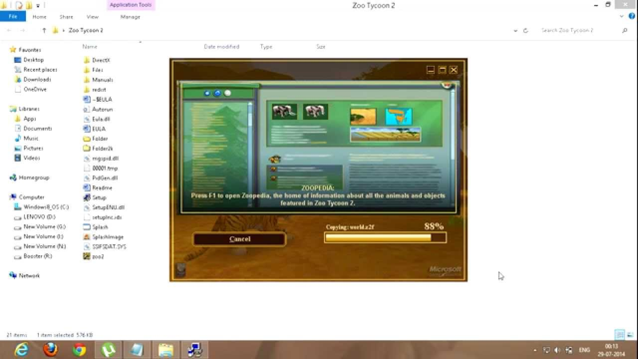 Zoo tycoon online no download.