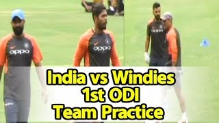 Watch Video: India & West Indies Team Practice In Guwahati | Sports Tak