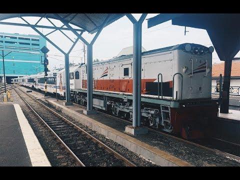 Train Travel in Indonesia: Semarang to Surabaya with New Image 2016 Economy Class
