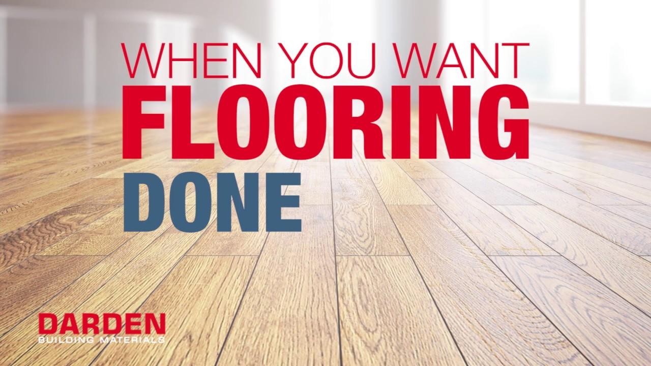 Flooring Supplies Installation Darden Building Materials