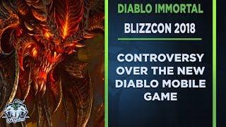 The Diablo Immortal Blizzcon Controversy: Blizzard doesn