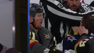 Marc-Andre Fleury on tickling Blake Wheeler
