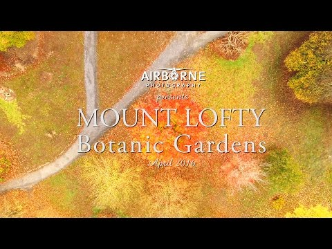 Adelaide Hills - Mount Lofty Botanic Gardens by drone - Airborne Photography