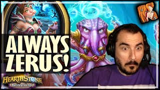 ALWAYS ZERUS YOUR AFK RUNS! - Hearthstone Battlegrounds