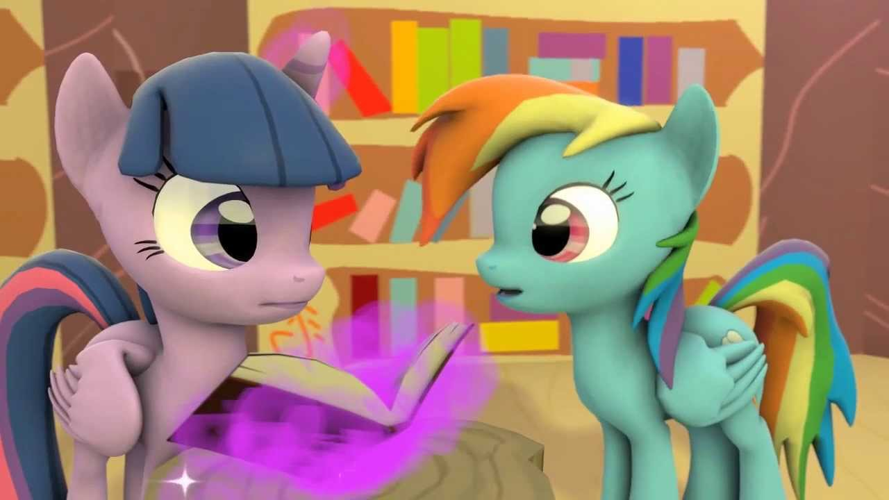 Sfm Ponies Rainbow Dash Is Excited - Youtube-3339