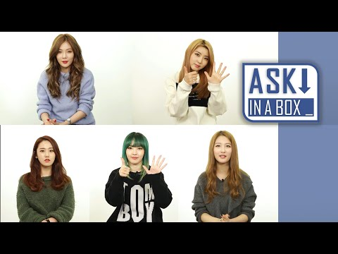 ASK IN A BOX: 4MINUTE(포미닛) _ Crazy(미쳐) [ENG/JPN/CHN SUB]