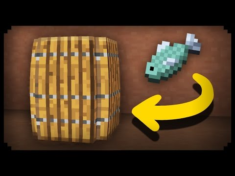 ✔ Minecraft: How to make a Working Barrel